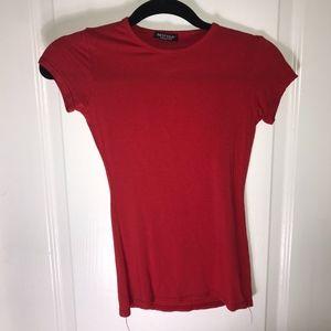 Nast Gal Red T Shirt